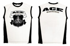 ACE BOXING Training Singlet Tank Competition Pro Fight Amateur ACE FIGHT GEAR