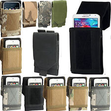 Universal Velcro Army Combat Camo Tactical Holster Belt Pouch for Large Phone's