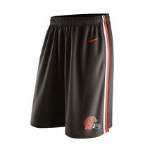 Cleveland Browns MENS Shorts Sideline Training Brown by Nike