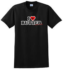 YOUTH WAKEBOARD SHIRT I LOVE BUTTER JUST RIDE CHILD RONIX LIQUID FORCE HYPERLITE