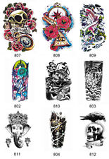 New Arm Leg 3D Waterproof Temporary Tattoo Body Art Sticker Stickers Removable A