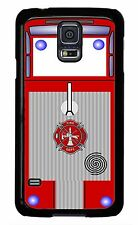 Firefighter Fireman FIRE TRUCK case cover Samsung Galaxy S3 S4 S5 S6 Note 2 3 4