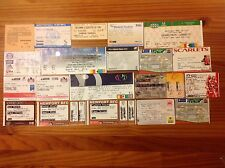 Used Club Rugby Tickets 1984 - 2013