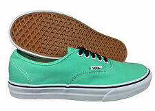 VANS. Authentic. Biscay GREEN Unisex Canvas Shoe. Mens US Size, 9.5 - 13.