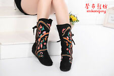 Exclusive Vintage embroidered Snow boots-Women boots-FLOWER Manual Boots PEfect!