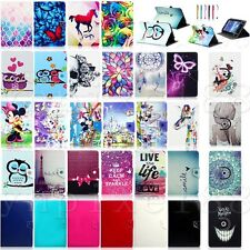"""Various Leather Case Cover For Samsung Galaxy Tab A 8.0"""" SM-T350 & 9.7"""" SM-T550"""