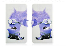 Minions Despicable me Magnetic PU Leather Flip Case Cover For Samsung Galaxy 43