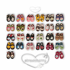 Straw Cherry Baby Shoes Walker Ballet Slippers