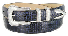 "The Oiler - Italian Calfskin Leather Dress Belt, 1-1/8"" Wide"