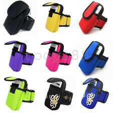 Outdoor Sports Cycling Running Mobile Cell Phone Arm Bag Wallet Wrist Key Pouch