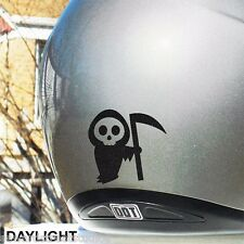 Little Death Hyper Reflective Motorcycle Helmet Safety Decal #115R