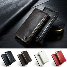 CLASSIC VINTAGE LEATHER Wallet Flip Custodia Cover per Samsung Galaxy S6 & S6 bordo