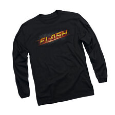 The Flash - CW's TV Show - TV Show Logo - Adult Long Sleeve T-Shirt