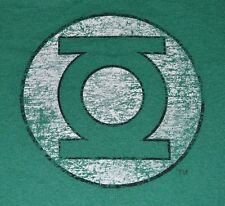 DC Comics Green Lantern Logo Adult Men's Graphic T-Shirt Officially Licensed