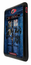 Walking dead mains Doctor Who Tardis police call Box Sony Xperia Housse E4