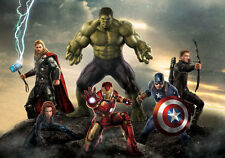 Avengers 2 Age of Ultron Marvel Full Wall Mural Photo Wallpaper Home Decal Kids
