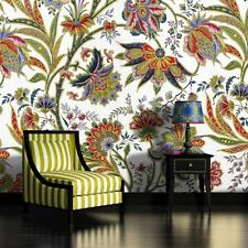 PHOTO WALL MURAL WALLPAPER WALLCOVER HOME DECOR COLORFUL FLORAL ORNAMENT 656VE