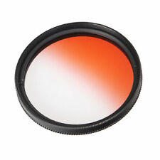 37/40.5/46/49/52/55/58/62/67/72/77/82mm Graduated orange Color Filter Lens