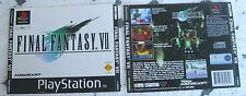 FINAL FANTASY VII (1997) PLAYSTATION 1 COVER, NO DISCO