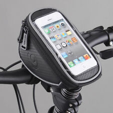 Bicycle Bike Waterproof Phone Case Cover Bag Pouch Handlebar Mount Holder Cradle