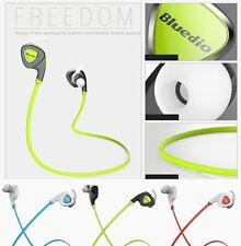 Bluedio Q5 Bluetooth Wireless Sports Stereo Waterproof Headset Earbuds Earphone