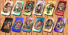 Disney Princess Tattoo - Faux Leather Flip iPhone And Samsung Galaxy Cover Case