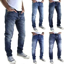 Neu JACK & JONES ANTI-FIT 3D Jeans - Erik & Nick - SLIM Herren Hose
