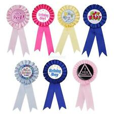 Award Ribbon Rosette Badge Birthday Baby Shower Celebration Party Supplies Favor
