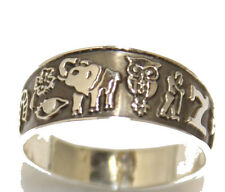 Lucky 8 Talisman Ring .925 Sterling Silver Buena Suerte Anillo Good Luck Ring
