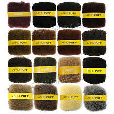 "Afro Puff 100% Human Hair Kinky Bulk Braiding Hair Extension 10"" by Lord & Cliff"