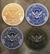 Subdued US Department of Homeland Security Emergency Preparedness Response Patch