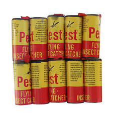 NEW 10 x INSECT CATCHERS Pest Bug Wasp Window Fly Poison Free Killer Tape Paper