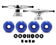 "Accessories 5.25"" 5"" Skateboard Trucks 52mm Skateboard Wheels Abec-7 Bearings"