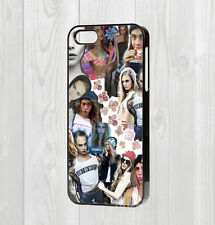 MADE FOR IPHONE 4 5 5C 6 6+ CASE - CARA DELEVINGNE MODEL COLLAGE CUTE FUNNY