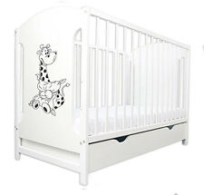 BABY COTS WITH DRAWER/BABY BED/COT BEDS 4 MODELS MIKI + MATTRESS