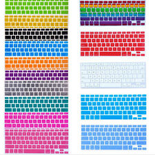 Hot! Silicone Keyboard Cover Skin For Apple Macbook Pro MAC 13 15 17 Air 13
