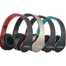 Foldable Wireless Stereo Bluetooth Headphone Wired Headset &MP3 Player &FM Radio