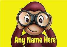 CURIOUS GEORGE PERSONALISED PLACEMAT