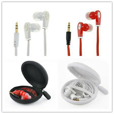 In-Ear 3.5mm Earphone Earbuds Headset HeadPhone with box For Cellphone Mp3 Mp4