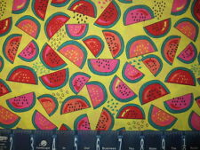 FRUIT PUNCH WATERMELON COTTON FABRIC BTY