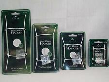TRIPAR WHITE WIRE PLATE DISPLAY HANGER - 4 SIZES - NEW