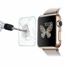 New Premium Real Tempered Glass Screen Film Protector For Apple Watch 42/38mm