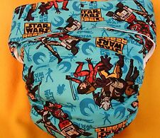 All In One Adult Baby Reusable Cloth Diaper S,M,L,XL Star Wars Rebels