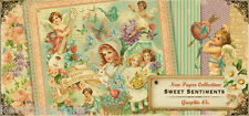 Graphic 45 Sweet Sentiments 12x12 Scrapbooking Paper Pages