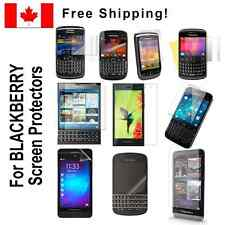 Clear screen protectors for Blackberry BB phone models cellphone protective film