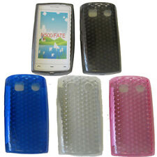 For Nokia 500 Fate N500 Pattern Soft Gel Jelly Case Cover Protector Pouch New UK