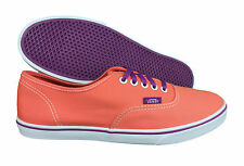 VANS. Authentic Lo Pro. Orange / Grape Purple. Unisex Shoe. Mens US Size 8.5.