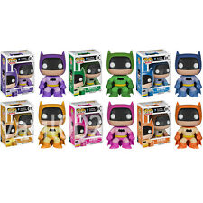 FUNKO POP! HEROES: BATMAN - 75TH ANNIVERSARY RAINBOW VINYL FIGURES
