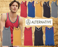 Tank Top Alternative  Eco Jersey Double Ringer Tank 22060 Man Tank Top All Color