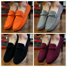 Men's sneakers Driving Moccasins Casual Breathable Flat England Fashion Shoes